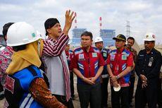 Cek PLTU Cilacap, Gubernur Ganjar Minta Pengelolaan Limbah Diperbaiki
