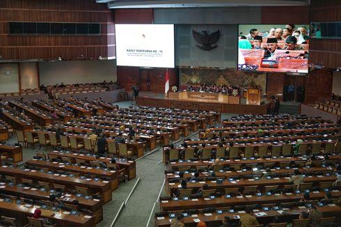 Saat Rapat Paripurna, PAN dan Demokrat Diam soal Usul Pembentukan Pansus Pemilu 2019