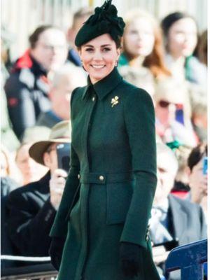 Mantel Alexander McQueen Kate Middleton