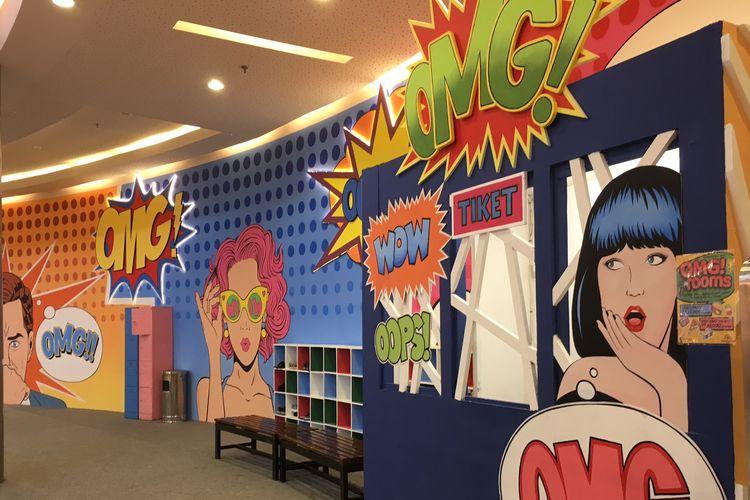 OMG Rooms, wahana foto di Summarecon Mall Bekasi mulai 18 April hingga 18 Agustus 2019.