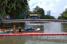 Banjir Perlahan Surut, Sejumlah Pintu Air di Jakarta Masih Siaga 1