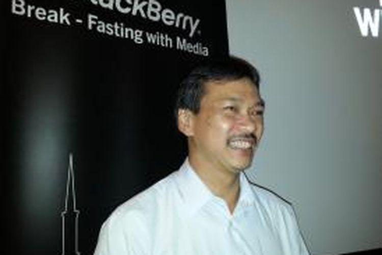 Kusuma Lienandjaja, Director Government Relations BlackBerry Indonesia