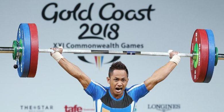 Atket angkat besi Malaysia pada Commonwealth Games 2018