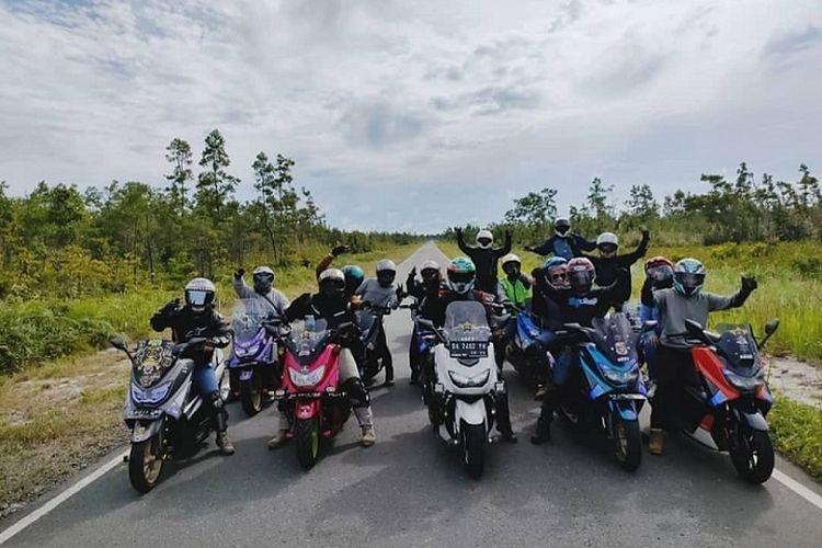 Eksistensi komunitas NMAX juga merambah ke ujung Timur Indonesia di Kepulauan Biak, Papua