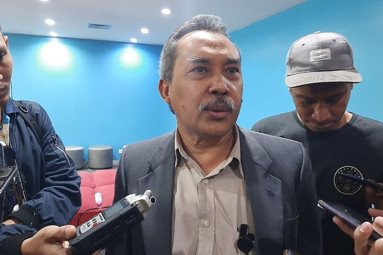 Anggota Dewan Pengawas KPK Syamsuddin Haris di Gedung ACLC KPK, Selasa (14/1/2020).