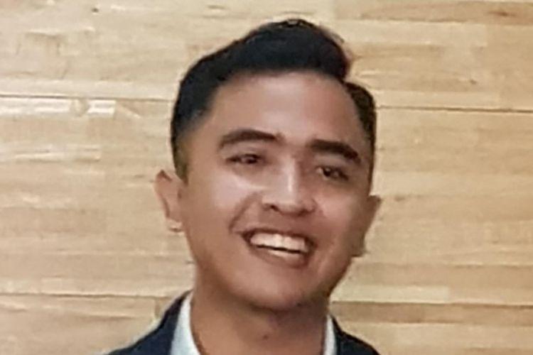 Peneliti Pusat Studi Hukum dan Kebijakan (PSHK) Agil Oktaryal dalam diskusi yang diselenggarakan Kode Insiatif di kawasan Tebet, Jakarta Selatan, Rabu (18/9/2019).