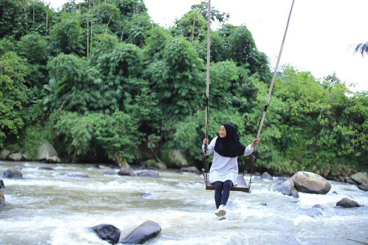 Wisata Alam Driam riverside