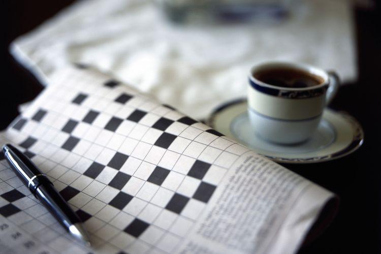 ilustrasi teka-teki silang