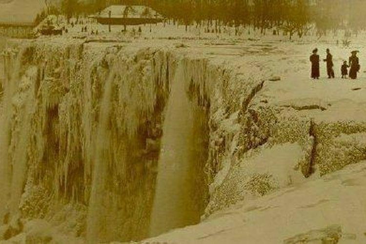 Saat Air Terjun Niagara Berhenti Mengalir Untuk Kali Pertama Halaman All Kompas Com