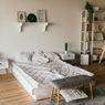 Ide Menata Kasur yang Ditempatkan Tanpa Dipan di Kamar Tidur