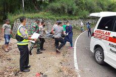 Detik-detik Kecelakaan 2 Motor di Tikungan Tajam Sarangan, Balita 7 Bulan Tewas