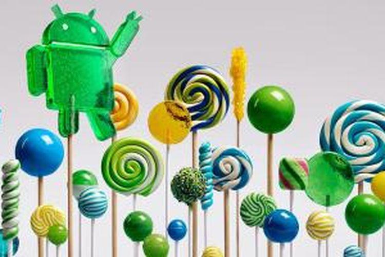 Android 5.0 Lollipop resmi diperkenalkan Google, Rabu (15/10/2014).