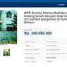Lelang Rumah 2 Lantai di Bekasi Mulai Rp 300 Jutaan, Minat?