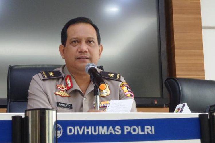 Kepala Biro Penerangan Masyarakat Divisi Humas Polri Brigjen Pol Rikwanto.