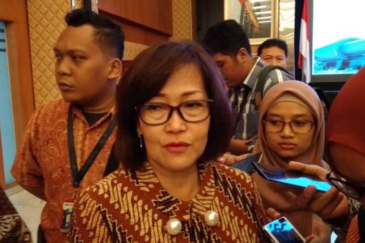Polana Banguningsih di Gedung BKPM, Jakarta, Selasa (25/9/2018).
