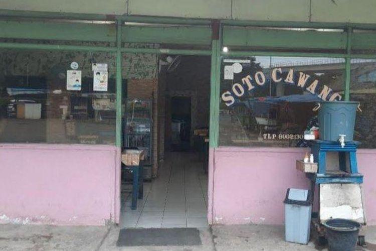 Kedai Soto Cawang, Jakarta Timur.