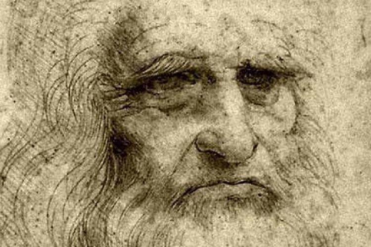 Potret Leonardo Da Vinci