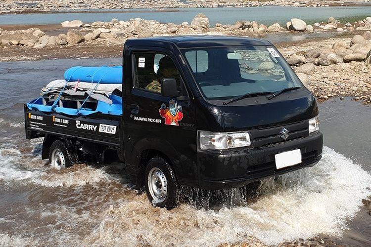 Suzuki Carry pikap mendominasi penjualan Suzuki selama pandemi.