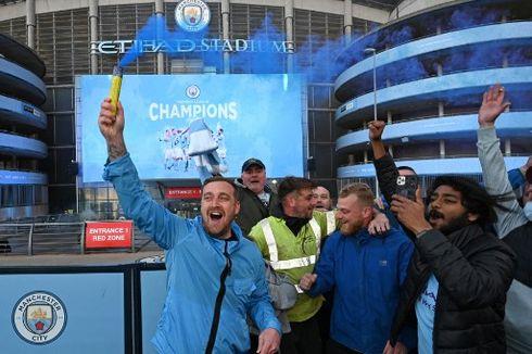 Tujuh Rekor Menghiasi Gelar Juara Man City