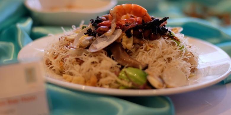 Fried Heng Hwa Bee Hoon, salah satu hidangan khas dari restoran Putien.