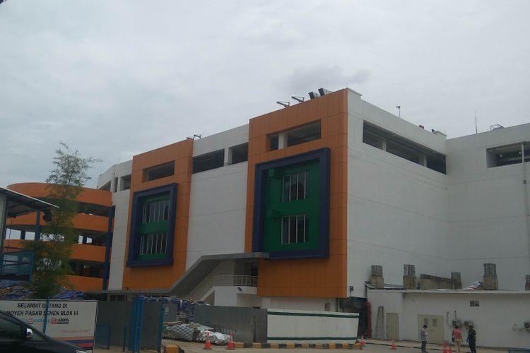 Bangunan baru Pasar Senen Blok III siap beroperasi pertengahan Januari, Selasa (9/1/2018)