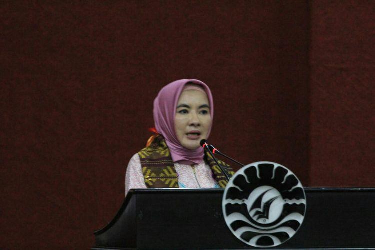 Direktur Utama (Dirut) PT Pertamina Nicke Widyawati.