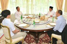 Pertemuan Jokowi-Prabowo, dari Stasiun MRT hingga Tamu Pertama 2020