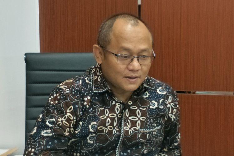 Wakil Ketua Badan Legislasi (Baleg) DPR Sarmuji saat ditemui di Kompleks Parlemen, Senayan, Jakarta, Senin (2/9/2019).