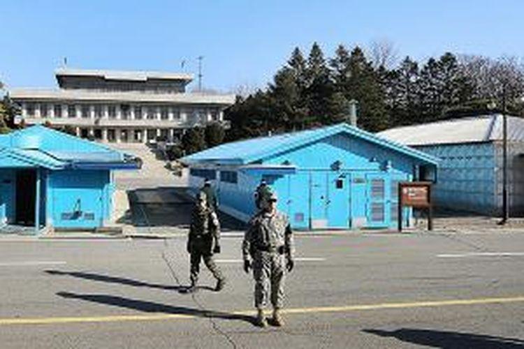 Penjaga Perbatasan Kedua Korea.