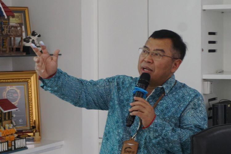 Direktur Utama PT Sarana Multigriya Finansial (SMF) Ananta Wiyogo.