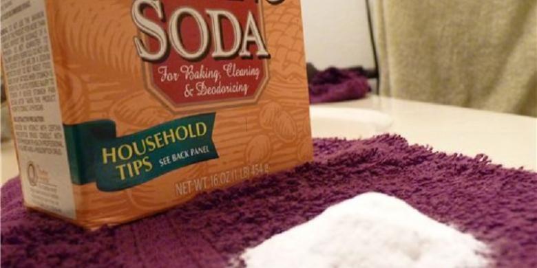 Baking soda bisa bekerja untuk Anda. Selain murah, mudah pula cara menggunakannya.