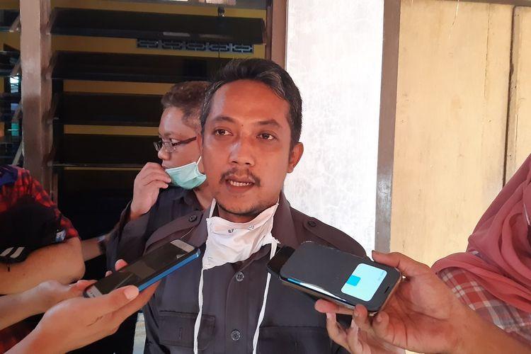 Ketua Bawaslu Sukoharjo, Bambang Muryanto di Sukoharjo, Jawa Tengah, Senin (6/7/2020).