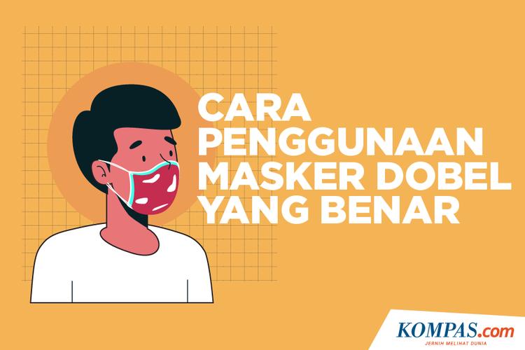 Cara Penggunaan Masker Dobel yang Benar