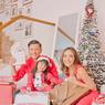 Gisel dan Gempi Rayakan Natal Bersama Gading Marten, Sempat Bikin Video TikTok