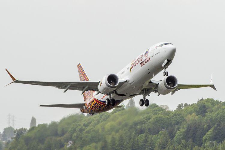 B737 MAX pertama  untuk Batik Air Malaysia. Lion Group menjadi operator B737 MAX pertama di dunia.