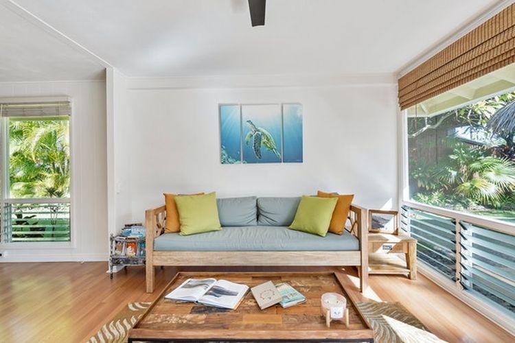 Tempat tinggal yang seimbang dengan alam akan membantu menciptakan keadaan terbaik untuk rezeki dan keberuntungan.