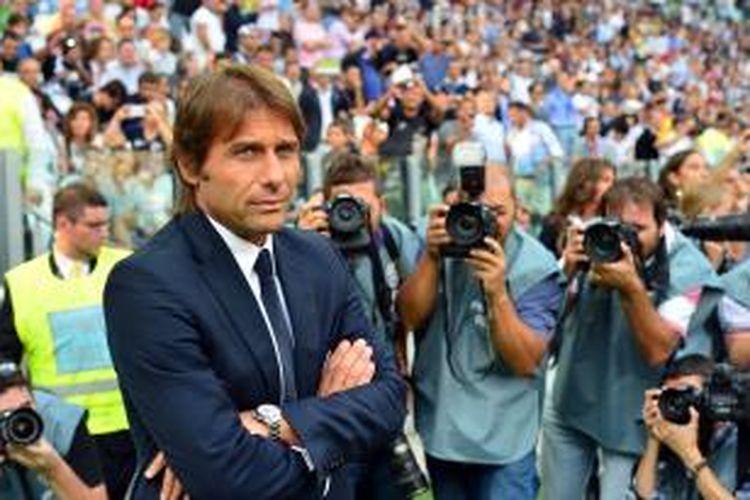 Pelatih Juventus Antonio Conte.