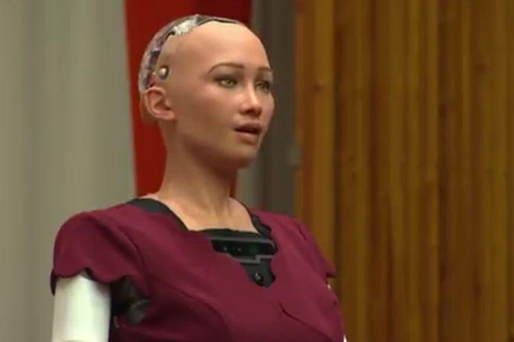 Sophia, Robot Canggih Yang Hadir dalam Rapat PBB