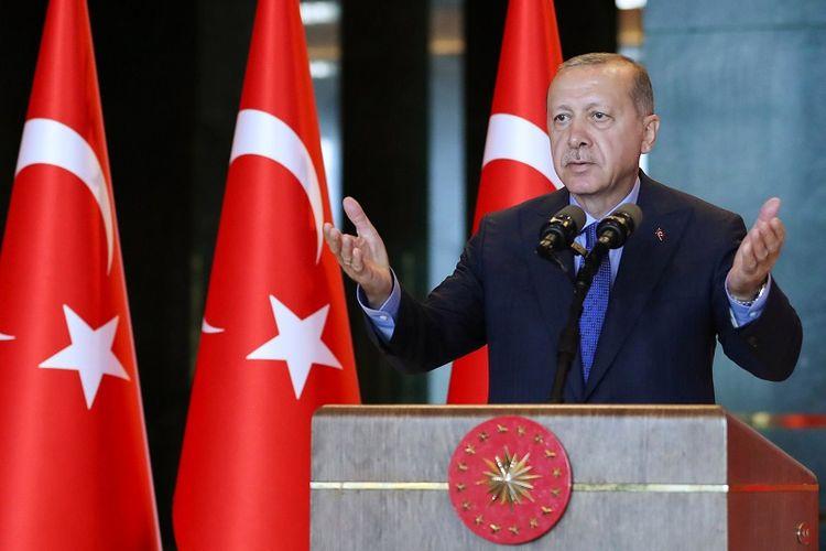 Presiden Turki Recep Tayyip Erdogan.
