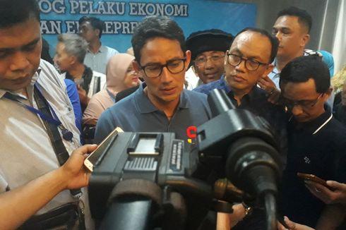 Sandiaga Sebut Keinginan Ganti Presiden Sangat Kental di Jateng