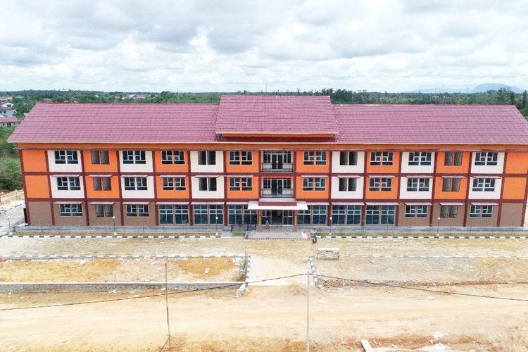 Rusun digunakan sebagai tempat karantina tenaga kesehatan RSUD Ade Muhammad Djoen Sintang, Pontianak, Kalimantan Barat.