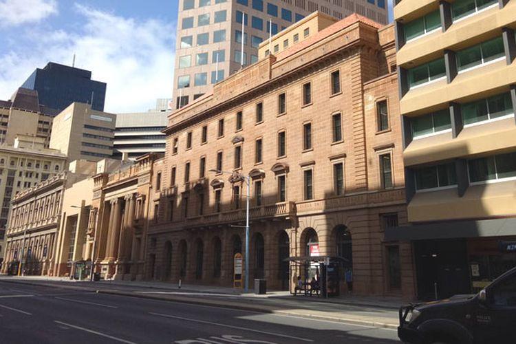 Central Business District (CBD) Adelaide, Australia.