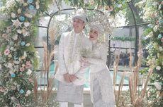Pernikahan Dinda Hauw dan Rey Mbayang, Maskawin Logam Mulia 40 Gram, Virtual dan Protokol Kesehatan