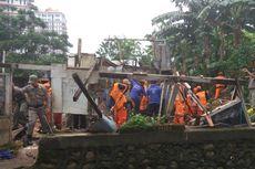 Rumah Petak di Petogogan Dibongkar