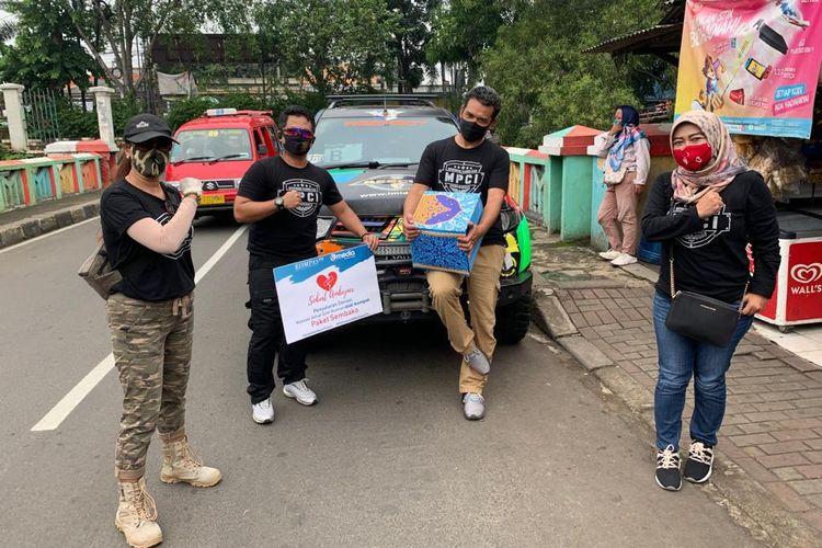 Distribusi sembako MPCI dalam upaya mengurangi beban masyarakat dalam menghadapi pandemi