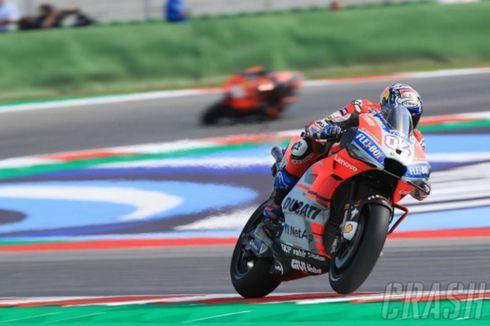 Hasil Balapan GP San Marino dan Klasemen MotoGP, Dovizioso Geser Rossi