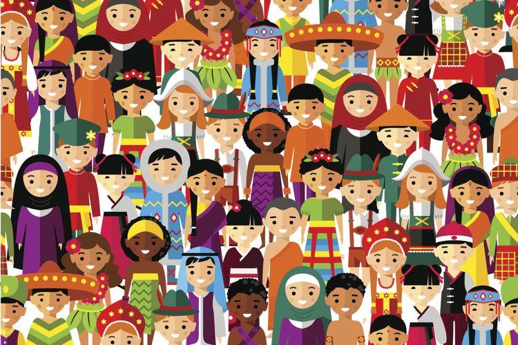 Ilustrasi keberagaman