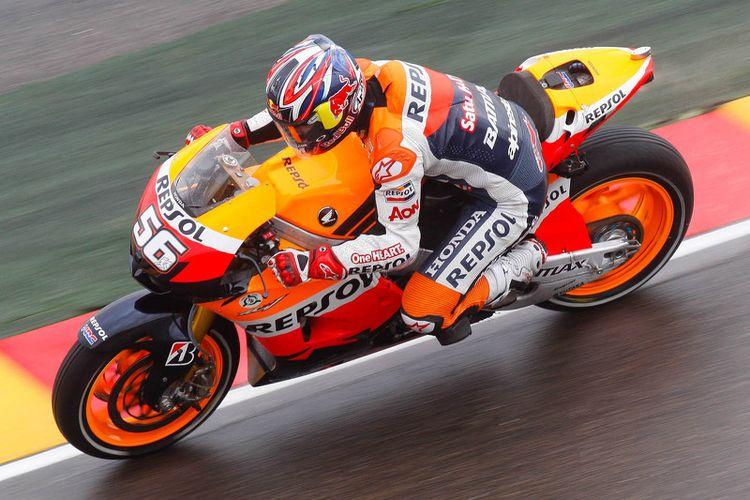 Jonathan Rea (Repsol Honda) di GP Misano 2012.