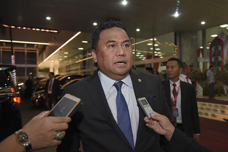 Wakil Ketua DPR RI Koordinator bidang Industri dan Pembangunan, Rachmad Gobel.