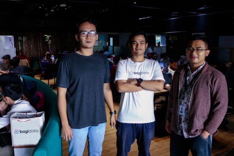Ikhwan Reza dan teman-temannya mendirikan Bagidata, startup digital yang bergerak dalam bidang big data.